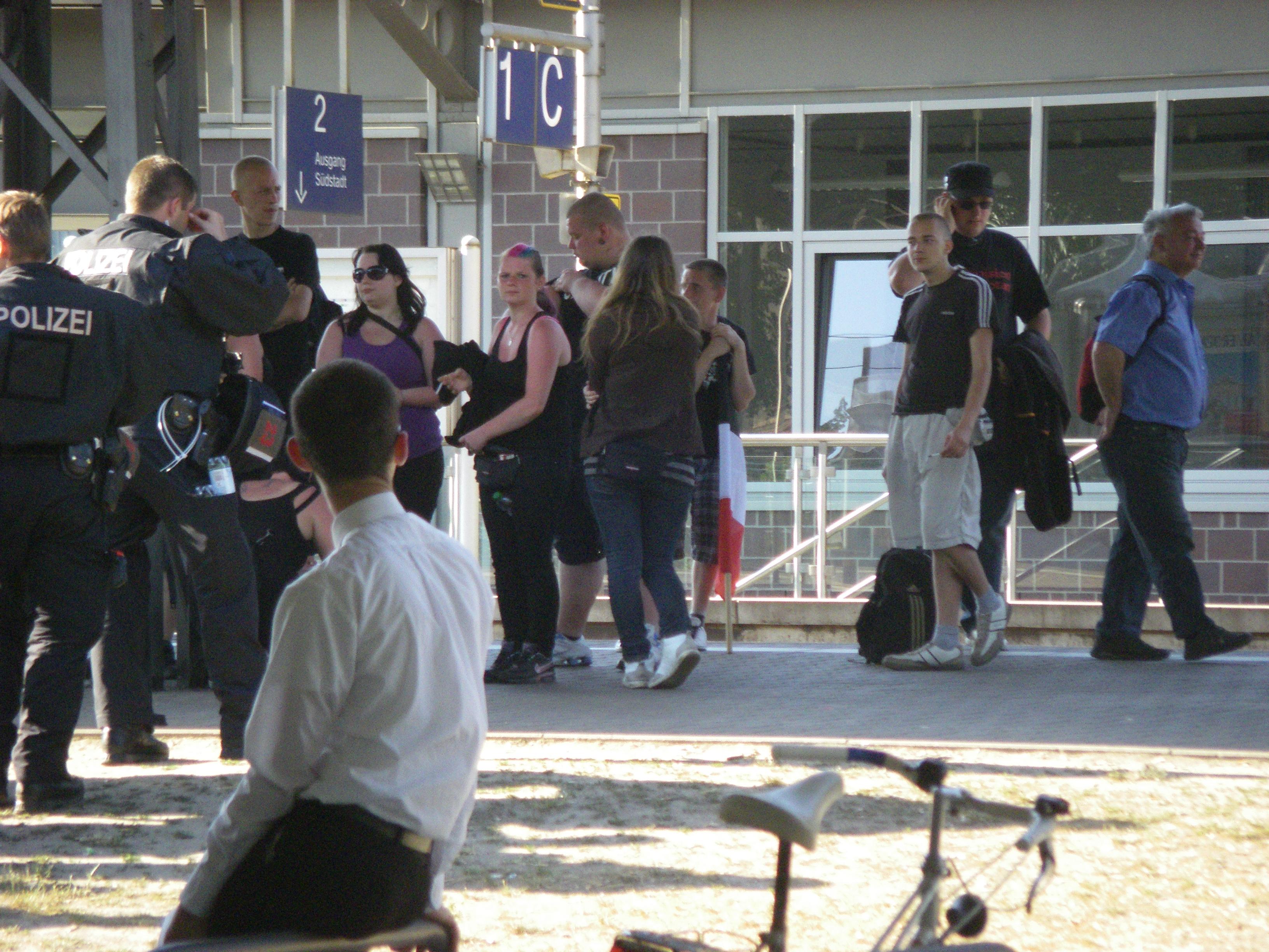Nazis Bahnhof Peine